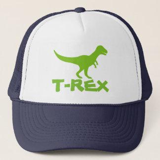 Boné Chapéu do camionista do dinossauro do tiranossauro
