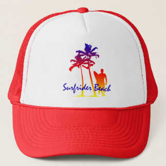 Boné Chapéu do camionista do Dois-Tom da praia de