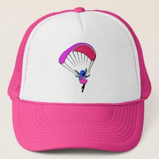 Boné chapéu do camionista do duende do parapente