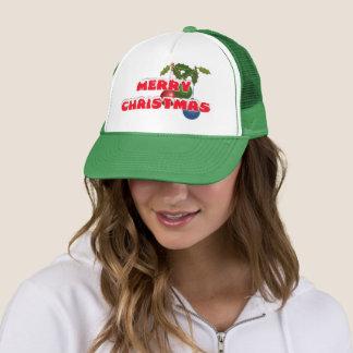 Boné Chapéu do camionista do Feliz Natal