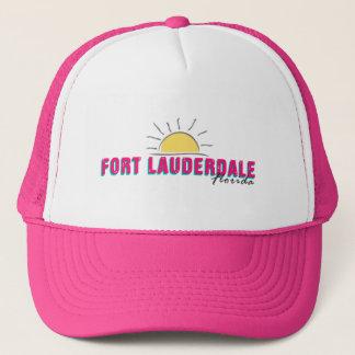 Boné Chapéu do camionista do Fort Lauderdale