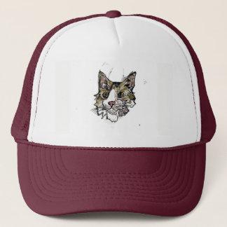 Boné Chapéu do camionista do gato de Spaz