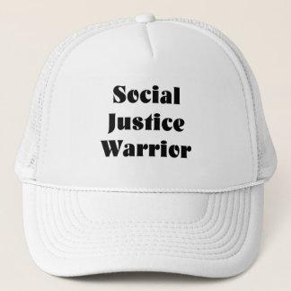Boné Chapéu do camionista do guerreiro de justiça