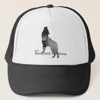 Boné Chapéu do camionista do lobo