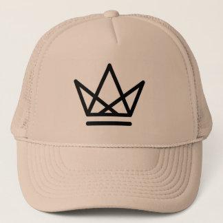 Boné Chapéu do camionista do logotipo da coroa
