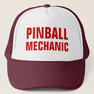 Boné Chapéu do camionista do mecânico do Pinball