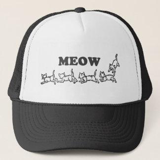 Boné Chapéu do camionista do Meow