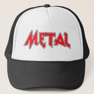 Boné Chapéu do camionista do metal