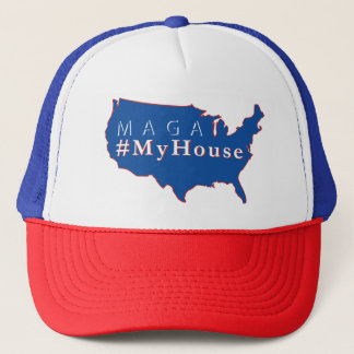 Boné Chapéu do camionista do #MyHouse de MAGA