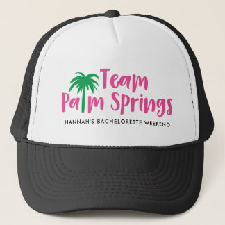Boné Chapéu do camionista do Palm Springs da equipe