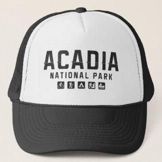 Boné Chapéu do camionista do parque nacional do Acadia