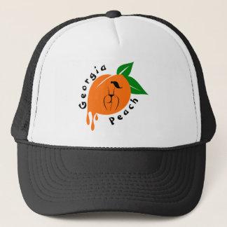 Boné Chapéu do camionista do pêssego de Geórgia