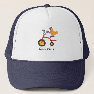 Boné Chapéu do camionista do pintinho do motociclista