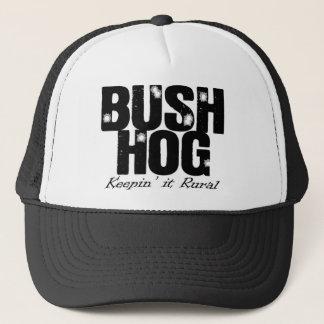 Boné Chapéu do camionista do porco de Bush