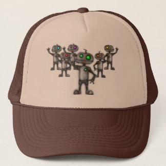 Boné chapéu do camionista do robô