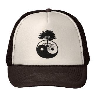 Boné/chapéu do camionista do símbolo da árvore de  boné