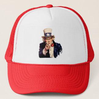 Boné Chapéu do camionista do tio Sam
