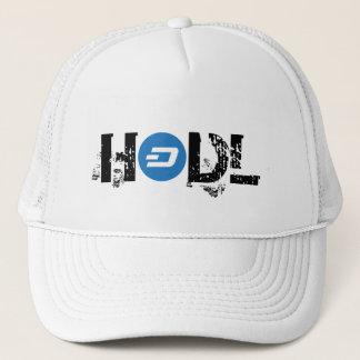 Boné Chapéu do camionista do TRAÇO de HODL