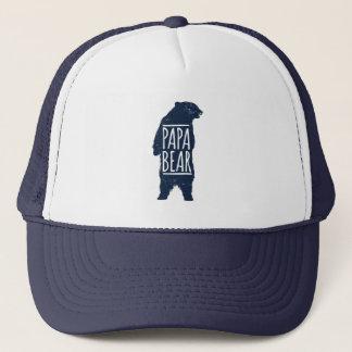 Boné Chapéu do camionista do urso da papá