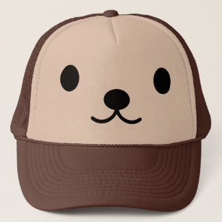 Boné Chapéu do camionista do urso de ursinho de Kawaii