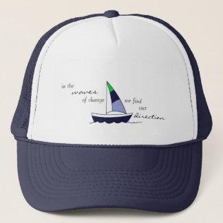 """Boné Chapéu do camionista do """"veleiro"""" de YogaSoulShine"""