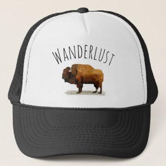 Boné Chapéu do camionista do WANDERLUST: Búfalo