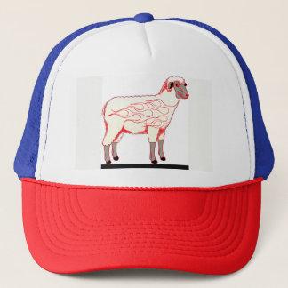 Boné Chapéu do camionista dos carneiros do hot rod
