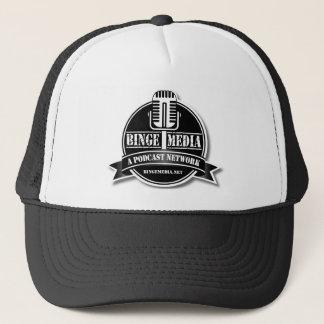 Boné Chapéu do camionista dos meios do frenesi