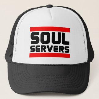 Boné Chapéu do camionista dos servidores da alma