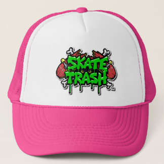 Boné Chapéu do camionista - rosa