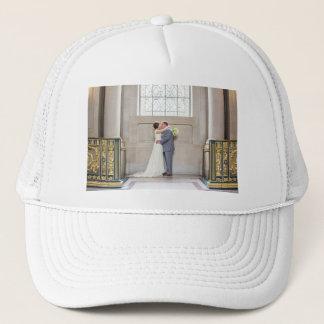 Boné Chapéu do casamento de Chelsea & de Richard