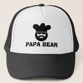Boné Chapéu do CHURRASCO do urso da papá para homens