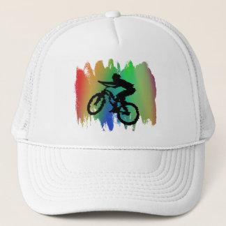Boné Chapéu do ciclismo do arco-íris