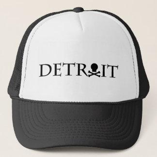 Boné Chapéu do crânio de Detroit