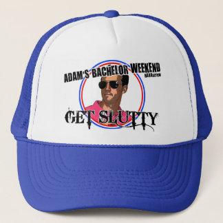 Boné Chapéu do despedida de solteiro de Adam