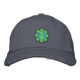 Boné Chapéu do Dia da Terra da flor da terra
