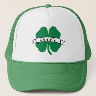 Boné Chapéu do dia de quatro St Patrick afortunado do