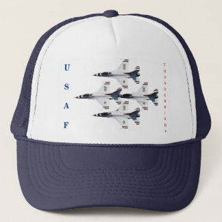 Boné Chapéu do diamante do F-16 dos Thunderbirds