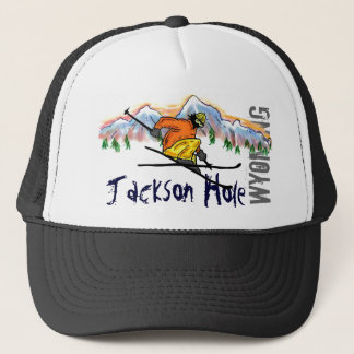 Boné Chapéu do esqui de Jackson Hole Wyoming