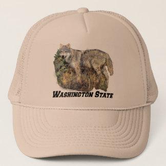 Boné Chapéu do estado de Washington (lobo)