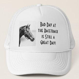Boné Chapéu do fã de corrida de cavalos