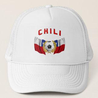 Boné chapéu do futebol do pimentão