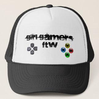 Boné Chapéu do Gamer FTW da menina