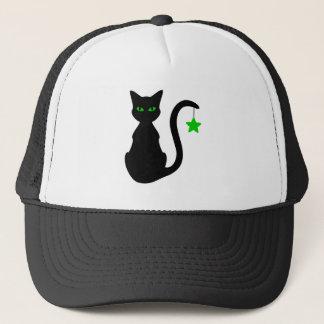 Boné Chapéu do gato preto