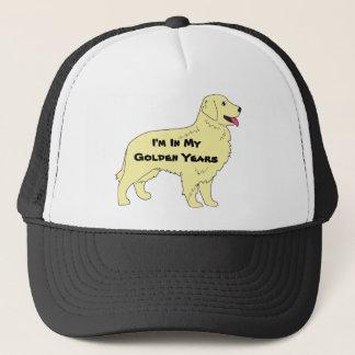 Boné Chapéu do golden retriever