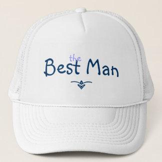 Boné Chapéu do homem da trança azul o melhor