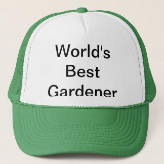Boné Chapéu do jardineiro do mundo o melhor