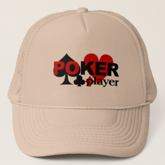 Boné Chapéu do jogador de póquer