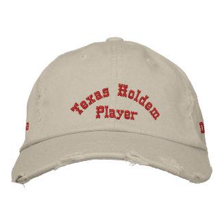 Boné Chapéu do jogador de póquer de Utimate
