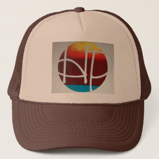 Boné chapéu do logotipo do por do sol do hPOSCH